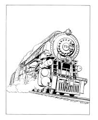 Train engine coloring pages are a fun way for kids of all ages to develop creativity, focus, motor skills and color recognition. Locomotive Steam Engine Train Coloring Page Printable For Kids