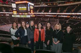 Flyers' women leaders: From business president and CFO to Gritty's ...