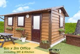 home office in garden. Home Office In Garden H