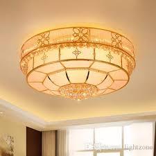 modern crystal chandeliers lightings gold round american chandelier living room bedroom led ceiling lamps european classic crystal lights chandelier light