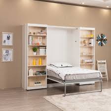 hidden wall bed. The Main System Of Wall Bed Mechanism Is Spring System, It Looks More Beautiful Than Piston Bed, Also Durable And Safe. Hidden