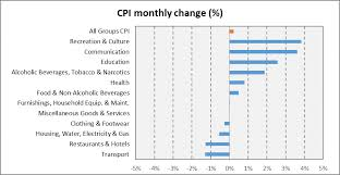 Monthly Cpi Chart A Closer Look Of Consumer Price Index Cpi For Puntland
