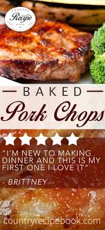 Country Style Baked Pork Chops  Recipe  Chops Recipe Pork Chop Country Style Pork Chop Recipe