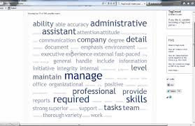 Resume Key Words Why tag clouds won't tell the right resume key words job search 35