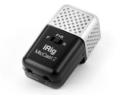 Микрофон IK Multimedia iRig Mic Cast 2 IP-IRIG-CAST2-IN | www ...