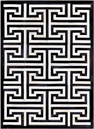 black and white rug patterns. Black/Cream Cow Hide Rug MH-255 Black And White Patterns T