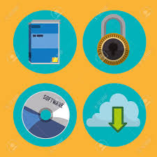 Graphic Design Software Icons Software Icons Concept And Technology Icons Design Vector Illustration