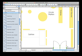 ConceptDraw PRO software for store layouts design.