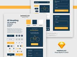 Free Psd Ui Kits Download Design Graphic Design Junction