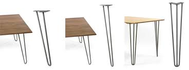 contemporary metal furniture legs. 12 Places To Buy Metal Hairpin Table Legs Raw Steel Stainless Contemporary Furniture