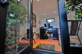 backyard home office. Entrance To 8x10 Studio Shed Backyard Home Office Modern-shed C
