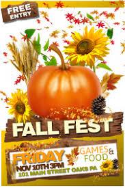 Fall Festival Flier 690 Fall Festival Customizable Design Templates Postermywall