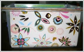 diy decorated storage boxes. DIY Decorative Storage Bins Diy Decorated Boxes O