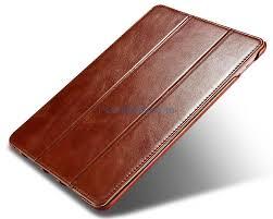 icarer ipad pro 9 7 vintage series side open genuine leather case