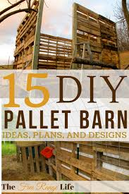 pallet shed. do you need a livestock barn or storage shed? try out some of these amazing pallet shed