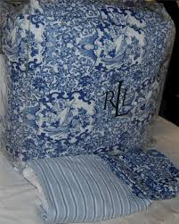 discontinued ralph lauren blue paisley bedding