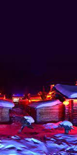 Snow Night Wallpaper - KoLPaPer ...