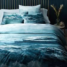 organic oceanscape duvet cover