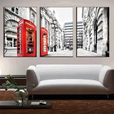 Modern Wall Paintings Living Room Aliexpresscom Buy 3 Pcs Set Modern Wall Paintings Canvas Prints