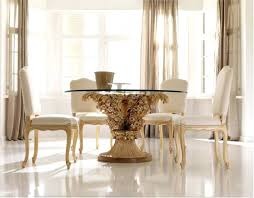 glass and gold dining table fetching picture of breakfast room decoration design ideas surprising small breakfast