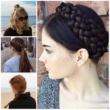 Easy teen hairdo's ponytail