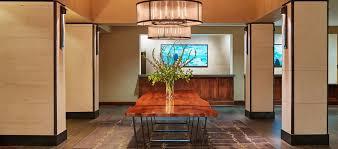 hilton san antonio airport hotel tx lobby table