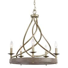 home decorators collection 5 light gilded pewter chandelier