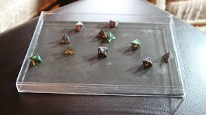 diy make your own 1 dice tray