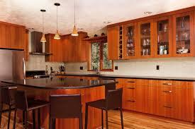 modern cherry kitchen cabinets. Custom-Cherry-Wood-Modern-Kitchen-Cabinets-Island-Floor- Modern Cherry Kitchen Cabinets K