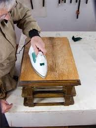 have a piece of antique furniture that needs some tlc learn more about repairing veneer on an antique with this helpful how to