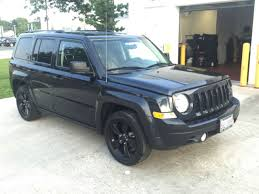 jeep patriot 2014 black rims. 2014 jeep patriot altitude black wheels suv fwd sport utility vehicle 14 rims