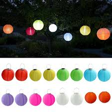 Pack Of 3 Solar Powered Waterproof Oriental LED Light Up Chinese Chinese Lantern Solar Lights