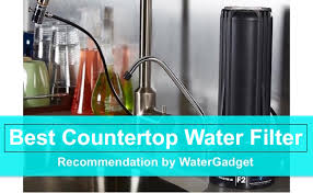 best countertop water filter system reviews