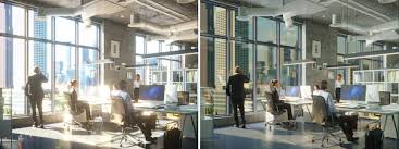 office glass windows. Brilliant Windows Hallo Window Tint In An Officebefore And After And Office Glass Windows F