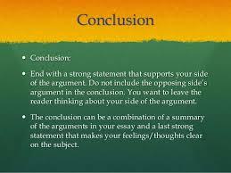 argumentative essay argument iuml130151 concluding sentence 10