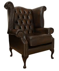 high back reading chair. Exellent High Queen Anne Chesterfield Library Reading Chair High Back Leather  Club Throughout X