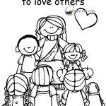 Small Picture coloring pages love one another love one another coloring page