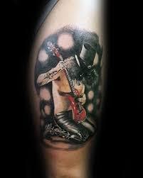 40 Zbraní A Růží Tetování Vzory Pro Muže Hard Rock Band Inkoustové