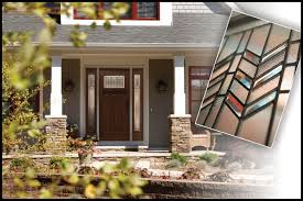 craftsman style front doorsPrairie Craftsman Entry door