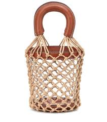 Moreau Pvc Bucket Bag
