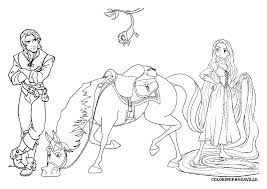 rapunzel coloring pages - Free Coloring Pages Printables for Kids