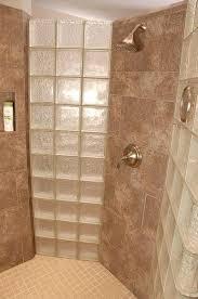 doorless shower enclosures walk in shower interior with glass blocks doorless shower cubicles