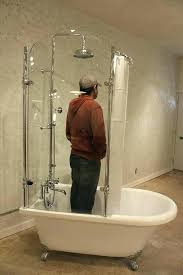 claw foot bath tub faucets shower faucet deck mount antique solid brass clawfoot bathtub spout
