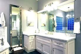 large bathroom wall mirrors metal vanity mirror the framed a hotel target