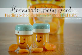 Solids Feeding Schedule: Month 2 Update - April Bungard - Solids Feeding  Schedule: Month 2 Update For the th… in 2020 | Baby food recipes, Diy baby  food, Baby eating