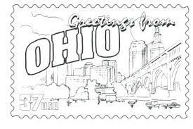Oklahoma State Symbols State Symbols Coloring Pages State Symbols