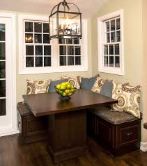Kitchen Table With Corner Bench Seating Kitchen Design Ideas And - Dining room corner bench