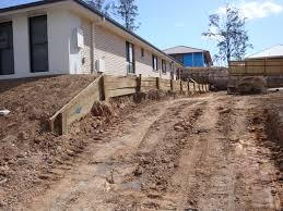 concrete sleeper retaining wall augustine heights ipswich