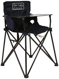 awesome ciao baby portable high chair with navy blue seat for baby dining furniture ideas