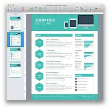 Pages Templates Resume Iwork Creative Res Sevte
